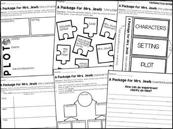 Journeys 5th Grade Lesson 1: A Package for Mrs. Jewls
