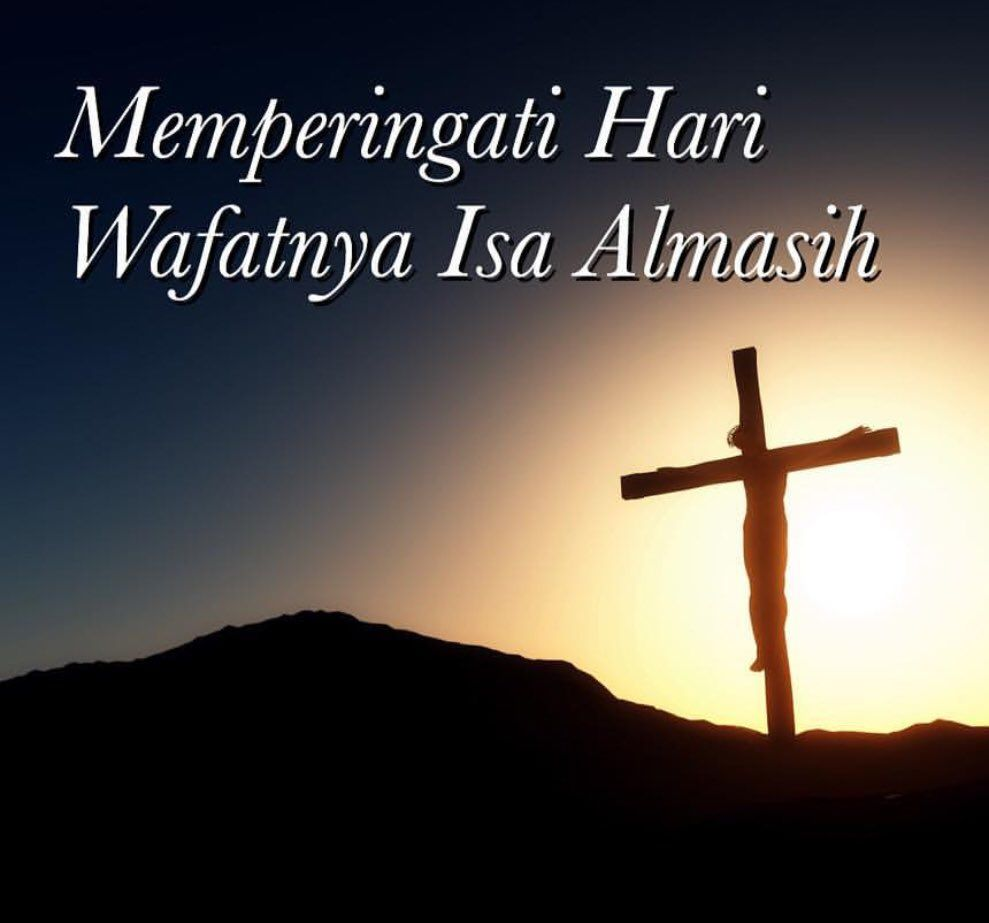 News About Jumat Agung On Twitter God Is Good Jesus God
