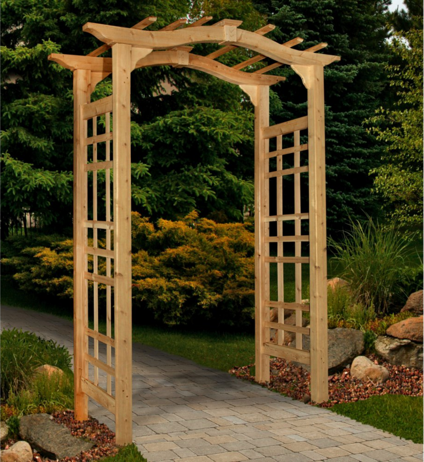 Outdoor Arbor Garden Trellis Archway Decor Patio Wedding Arch