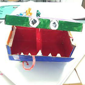 Doodle Box. Art project that promotes creativity