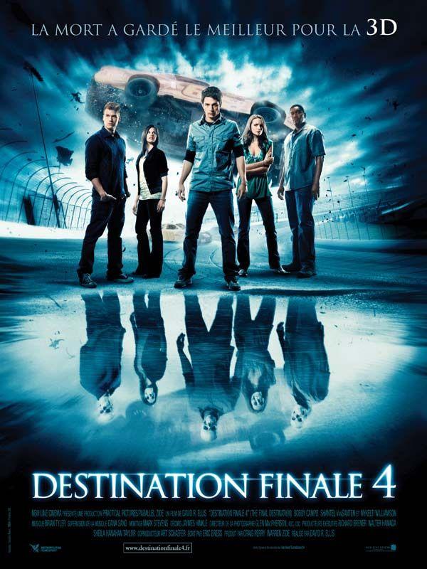 Destination Finale 4 Final Destination Movies Thriller Movies Horror Movie Posters