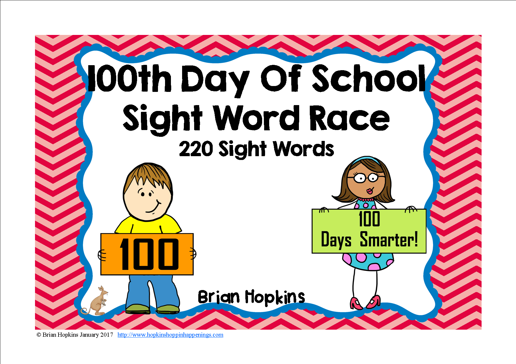 100th Day Of School Sight Word Race With Images