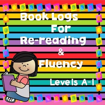 In the age of Common Core, all kids are expected to read and RE-READ often!  Re-reading not only helps comprehension but fluency as well! This is especially important with beginning readers on Fountas & Pinell levels A-I.Included in this product are 4 different ways for kids to track their re-reading!