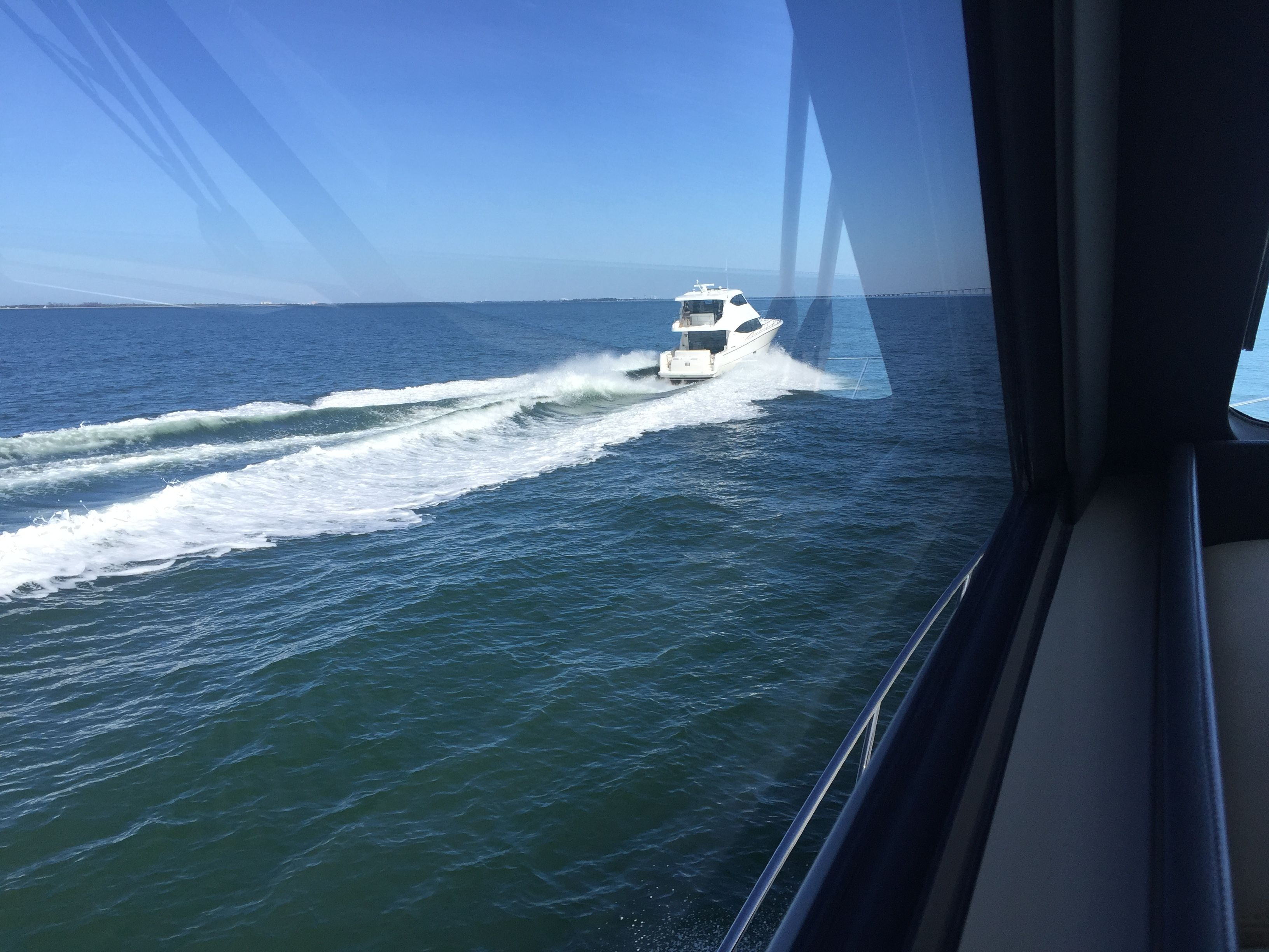 The Maritimo M48 during recent testing in Florida.