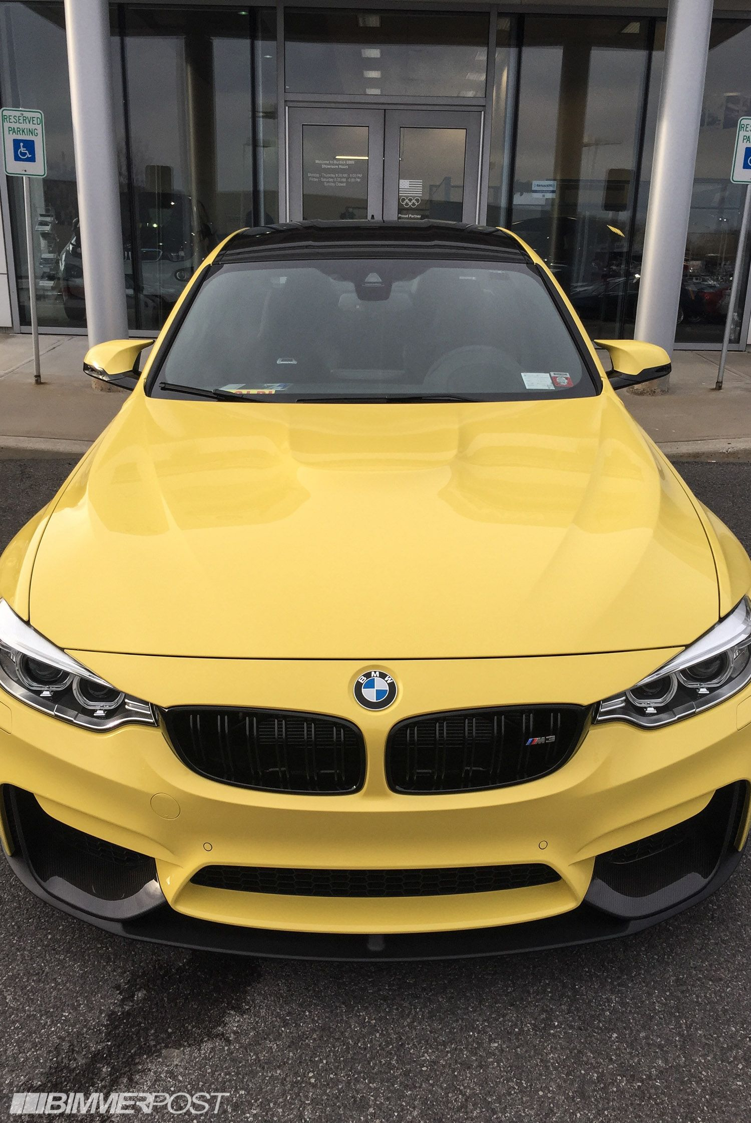 Dakar Yellow F80 M3 with M Performance Parts - updated ...