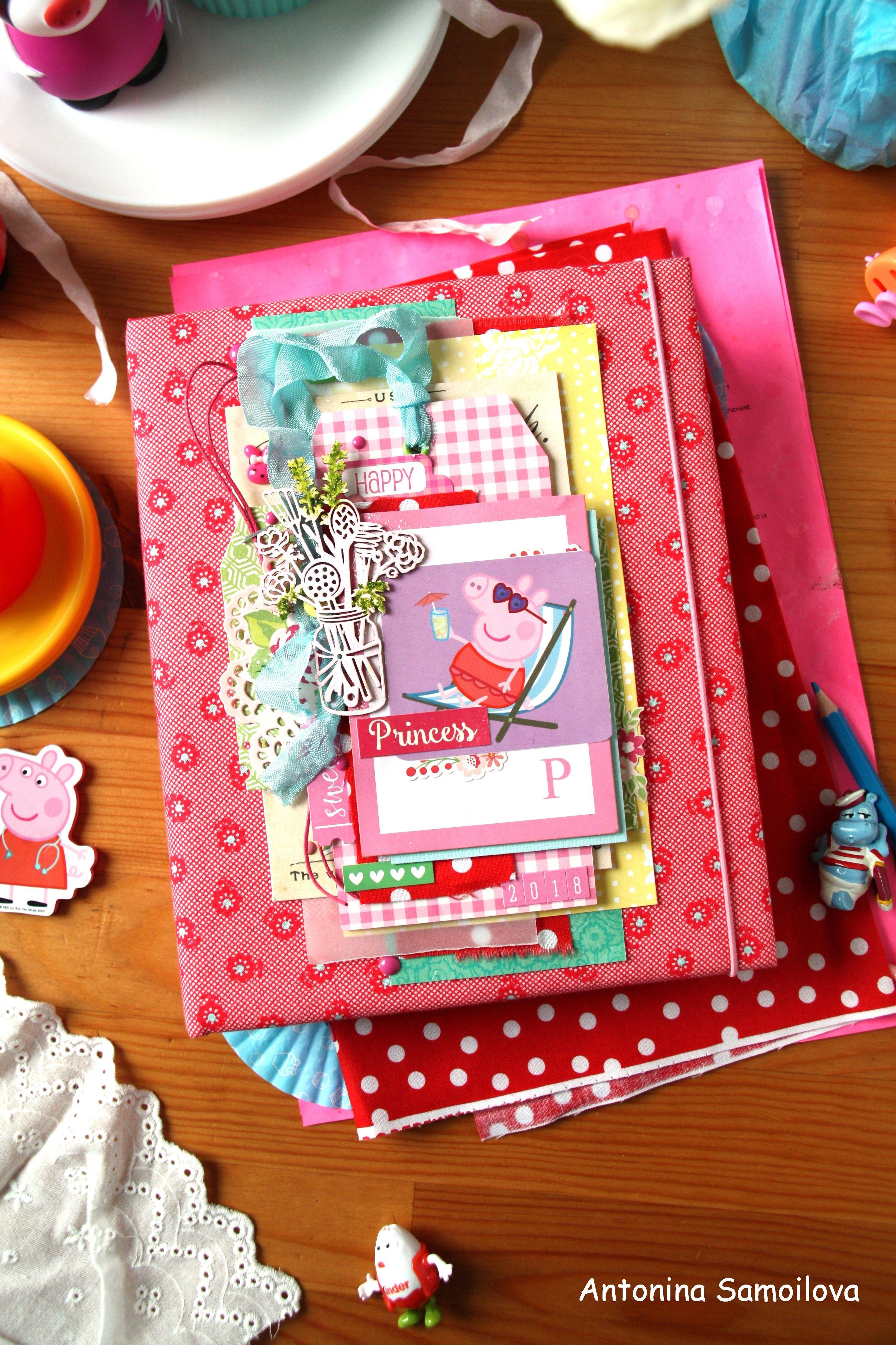 Peppa Pig , Кулинарная книга с милой Пеппой Craft paper