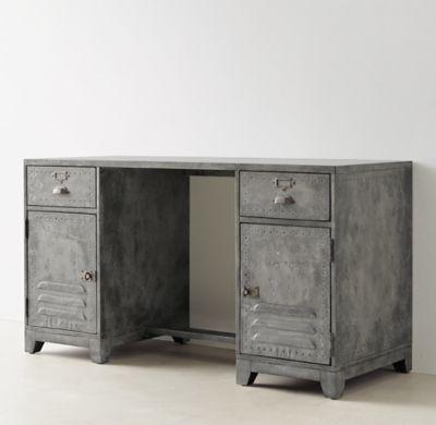 RH TEENs Kemp Storage DeskOldschool style Sturdy like