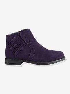 Boots à franges, fille  -   Collection Automne-Hiver 2016 - www.vertbaudet.com