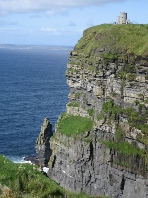 Ready for my second trip here. Who is going with me? - Cliffs of Moher, Ireland