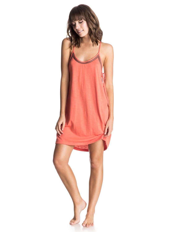 Seacliff Edge Dress 889351056689 Tank Top Dress Fashion Roxy Women [ 1500 x 1117 Pixel ]