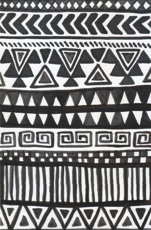 Patrón De Bordado Southwestern Sketch Fondos Pinterest Adorable African Tribal Patterns