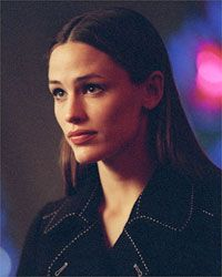 Jennifer Garner as Sydney Bristow, CIA Agent, on Alias (from 2001-2006).  Garner's best acting role.