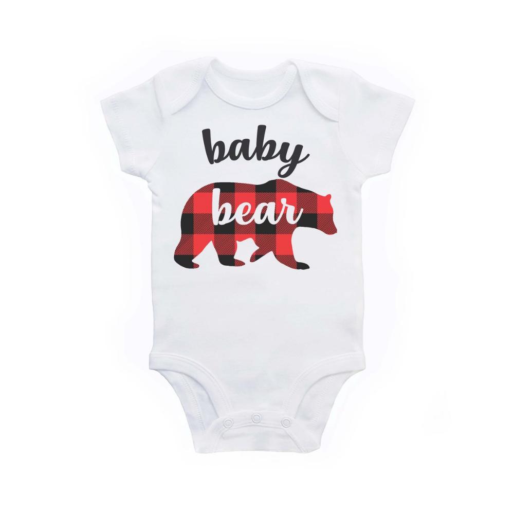 LUMBERJACK BODY SUIT PERSONALISED DADDYS LITTLE BABY GROW GIFT