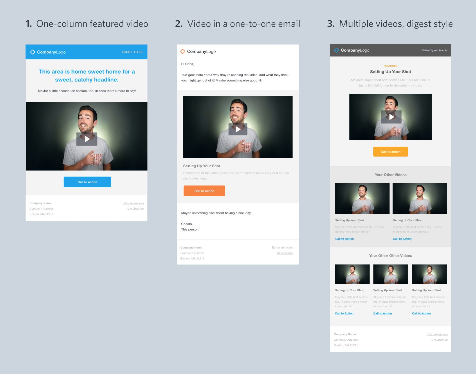Video Email Templates  Guide To Using Video In Email  Wistia