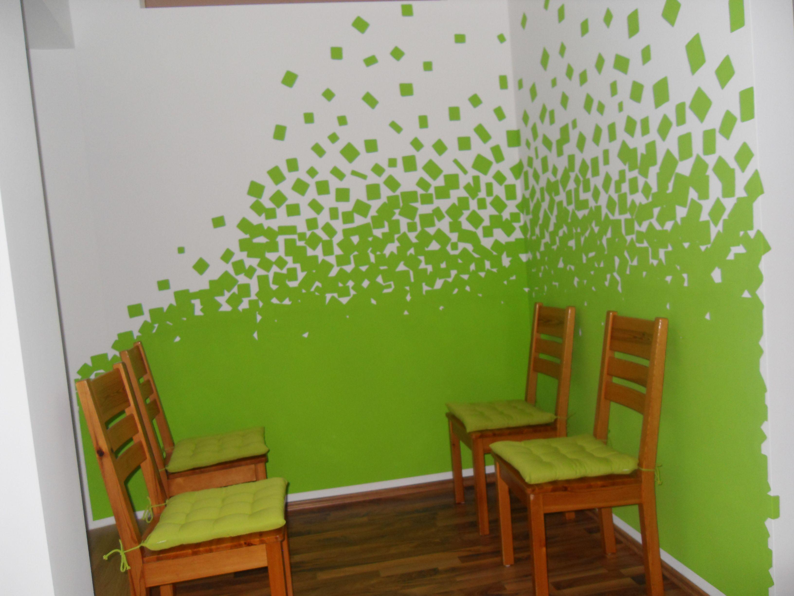 Wände Streichen Muster Küche