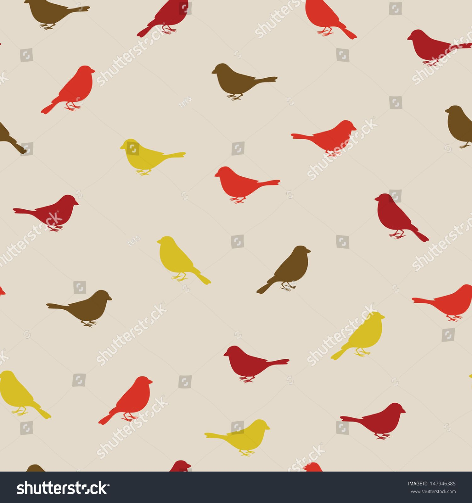 Birds seamless pattern. Colorful texture Texture, Image
