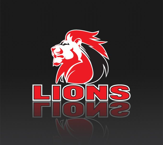 Lions Rugby Team Logo Design Collateral Stationery Lions
