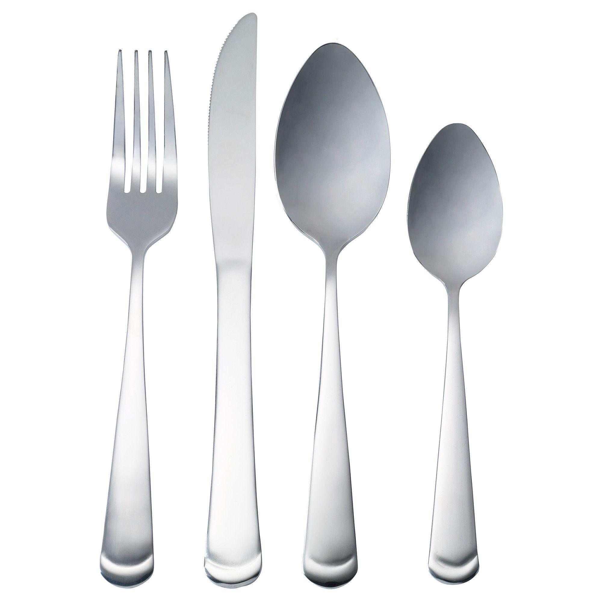 Ikea Gronling Cutlery Set Crockery Pinterest