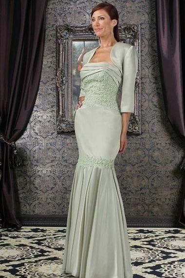 Natural Waist Chiffon Long Strapless Sleeveless Crystal Zipper Mother Of The Bride Dress