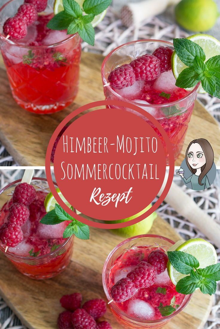 Himbeer-Mojito Cocktail Rezept - MakeItSweet.de