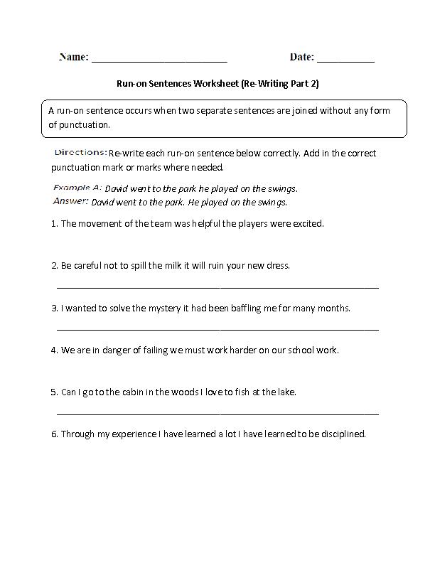 how to write correct english sentences with vocabulary