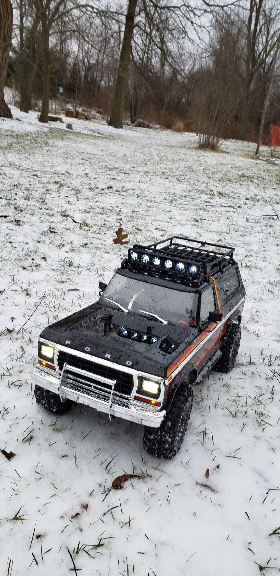 loves a snowy, rocky, bumpy trail! traxxas trx4