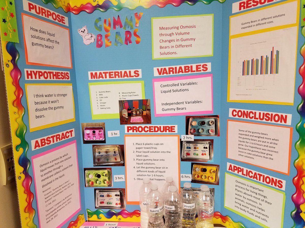 Resultado De Imagen Para Gummy Bear Science Project
