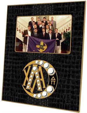 F2003 - Lambda Chi Alpha Badge Picture Frame $46.00 #LambdaChiAlpha #LambdaChi