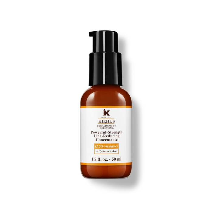 Powerful Strength Line Reducing Concentrate Vitamin C Serum Kiehl S In 2020 Skin Firming Vitamin C Serum Serum