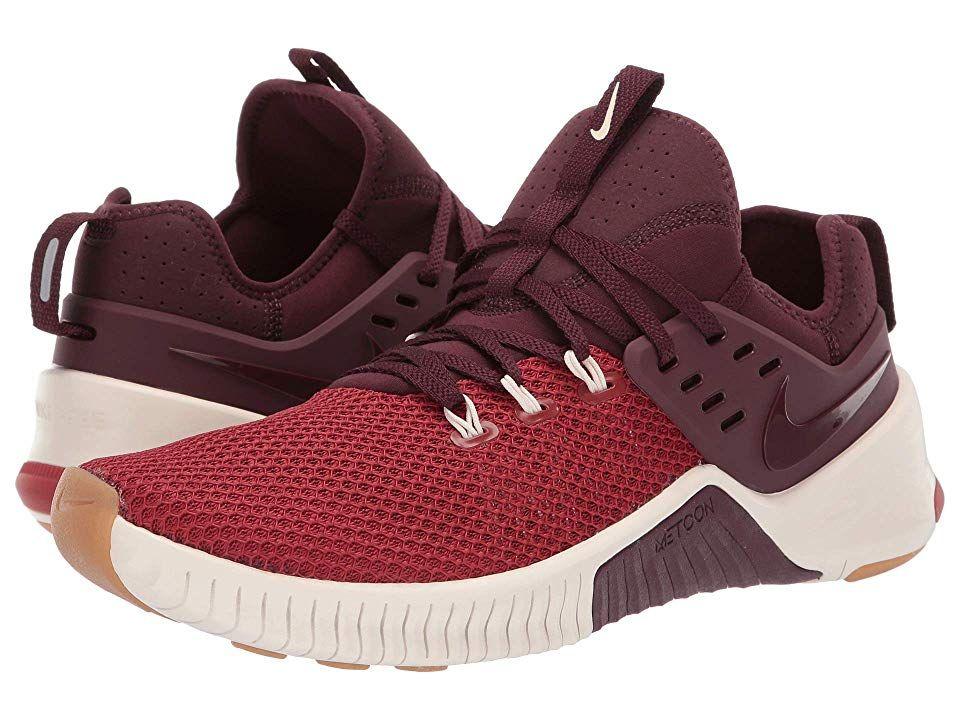 27c521f14b Nike Metcon Free (Dune Red Burgundy Crush Light Cream) Men s Cross Training