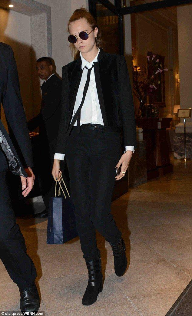 Cara Delevingne in Milan #MFW