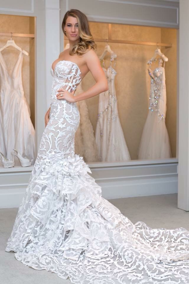 Pnina tornai wedding dress mermaid | Wedding dresses | Pinterest ...