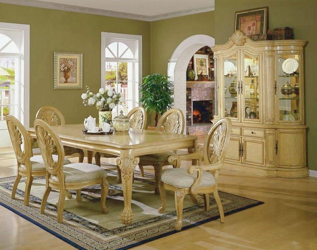 Von Furniture | Chantelle Formal Dining Room Set in White