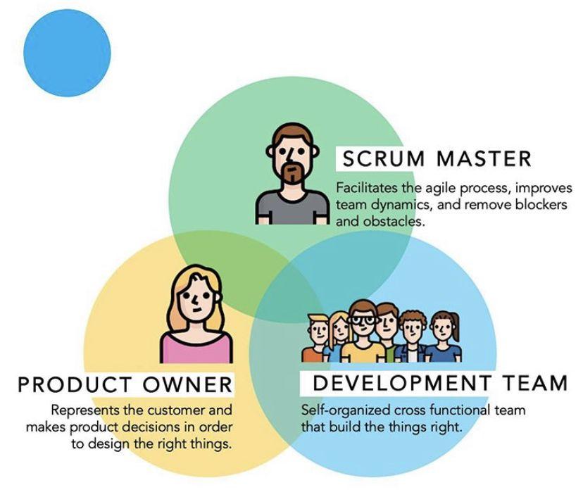 Scrum Roles Agile Process Cross Functional Team Self Organization