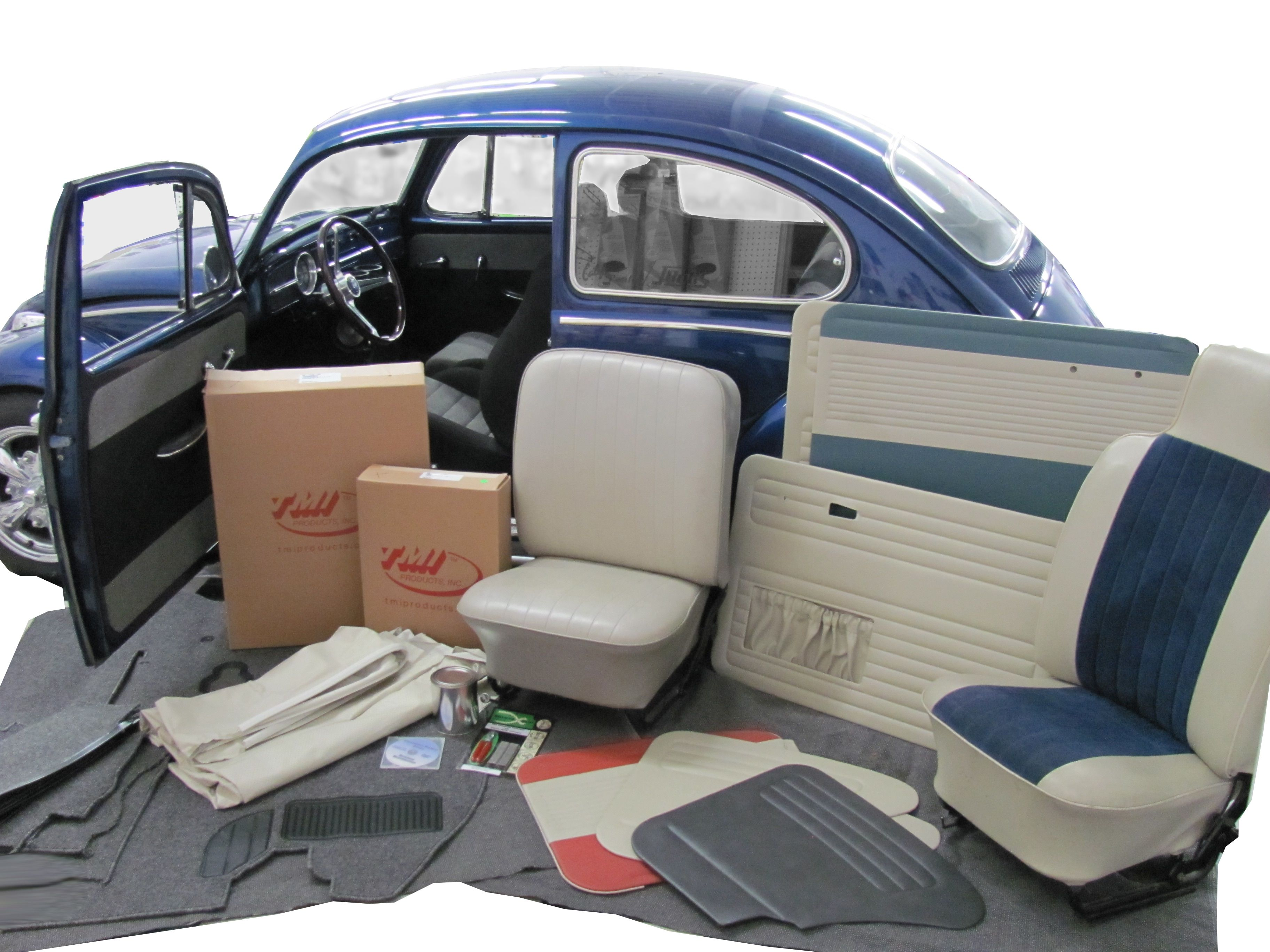 Complete Interior Kit Vw Bug Interior Vw Beetle Classic Vintage Vw
