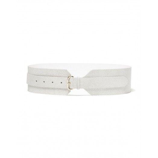 vasta gamma economico per lo sconto alta moda Cintura vita alta, in pelle effetto razza. Altezza fusto cm ...