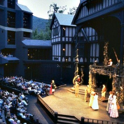 Oregon Shakespeare Festival Allen Pavilion Shakespeare Festival Ashland Theatre Design