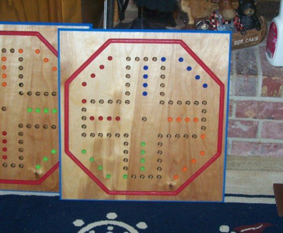 Aggravation Game Board W Marbles And Dice Sign D By Craftsman Etsy Aggravation Board Game Custom Woodworking Board Games