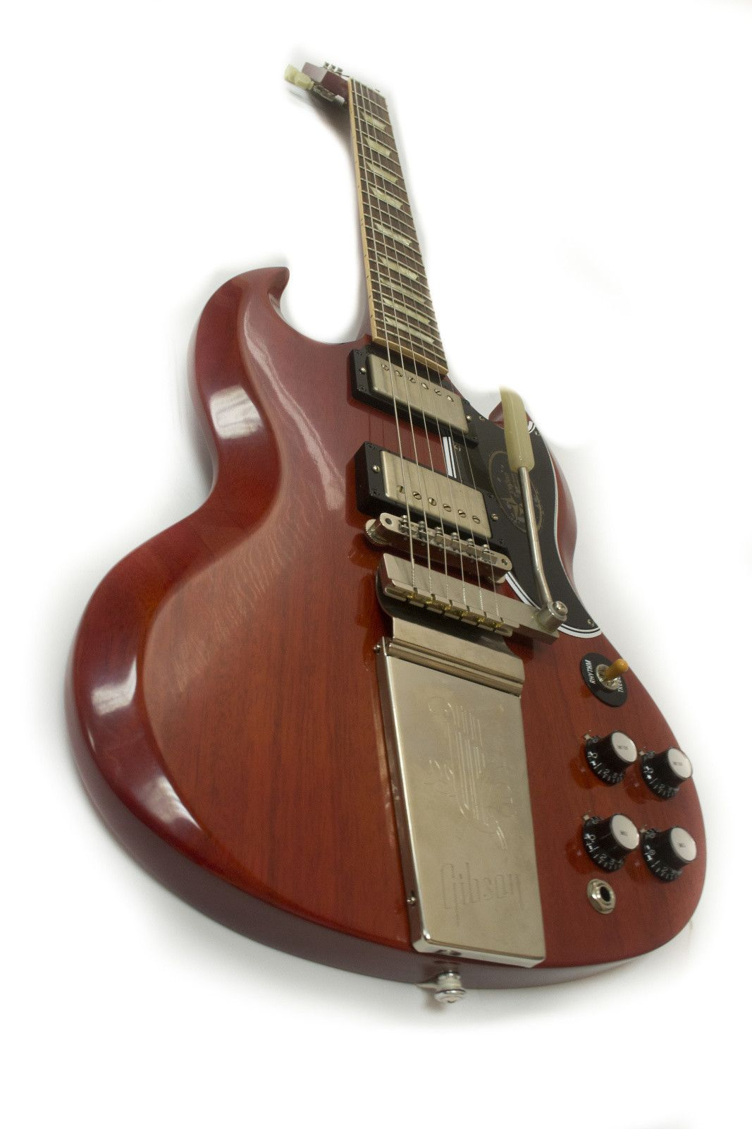 Gibson SG Standard Reissue VOS with Maestro Red | Reverb