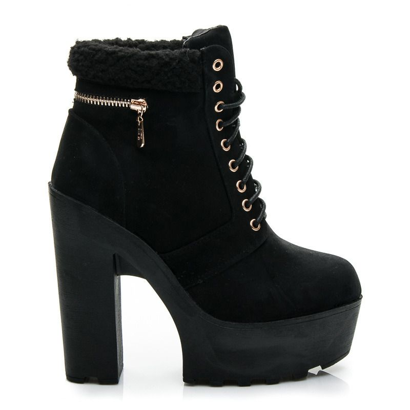 Botki Fashion Style Me Too Shoes Boots Ankle Boot