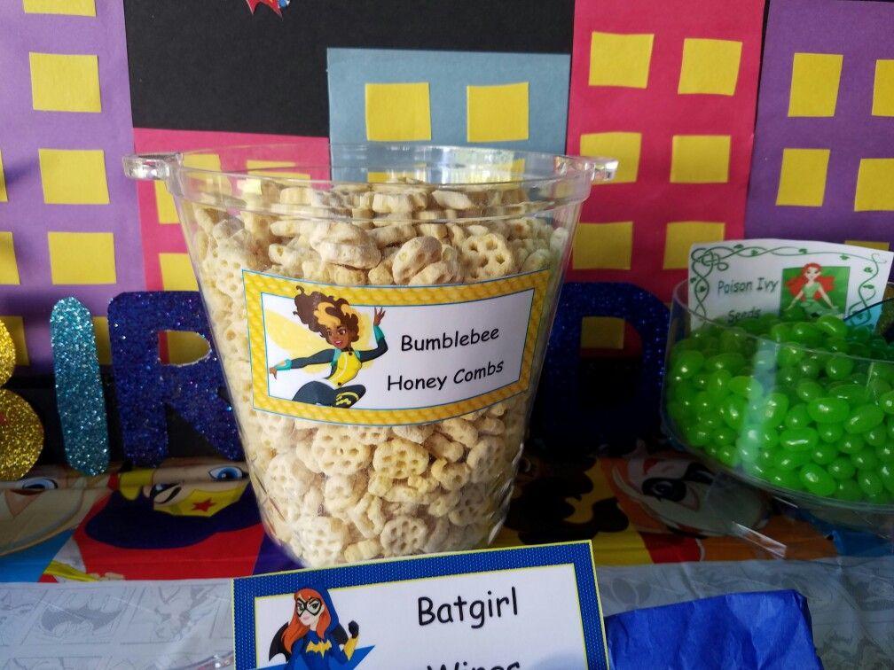 DC Super Hero Girls Snack Bar Bumblebee Honey Combs