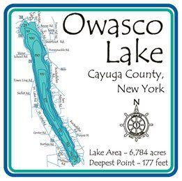 Owasco lake... The good old days of water skiing,tubing,knee boarding etc.