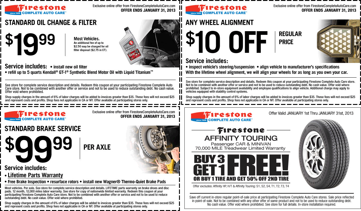 Firestone Deal Printable Coupons Free Printable Coupons Firestone