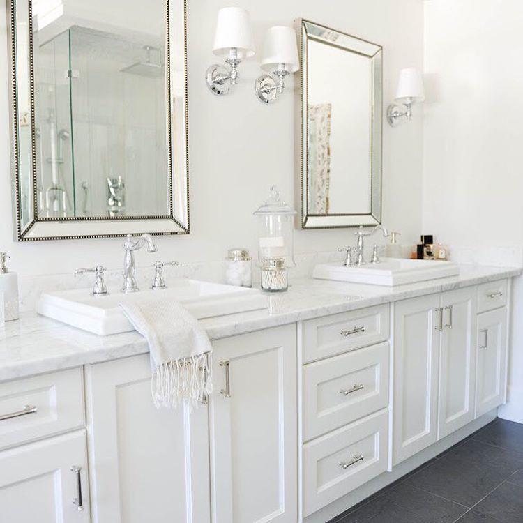"""""""Bathroom Perfection Via @monikahibbs #marble #bathroom #instacurated"""""""