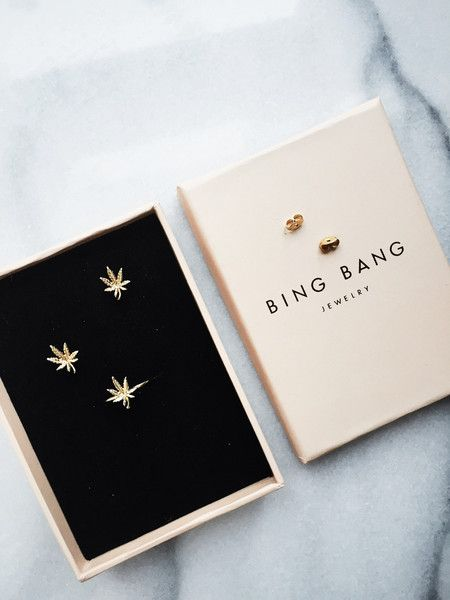 Mary Jane Studs in 2019 | { BING BANG JEWELRY } | Jewelry ...