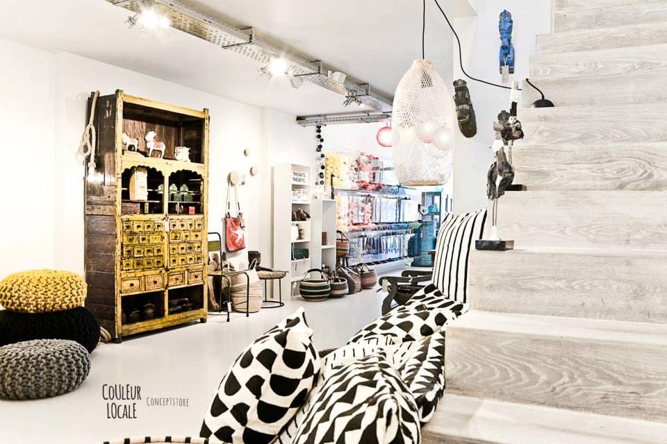 Conceptstore Couleur Locale : Couleur locale concept store in belgium magasin
