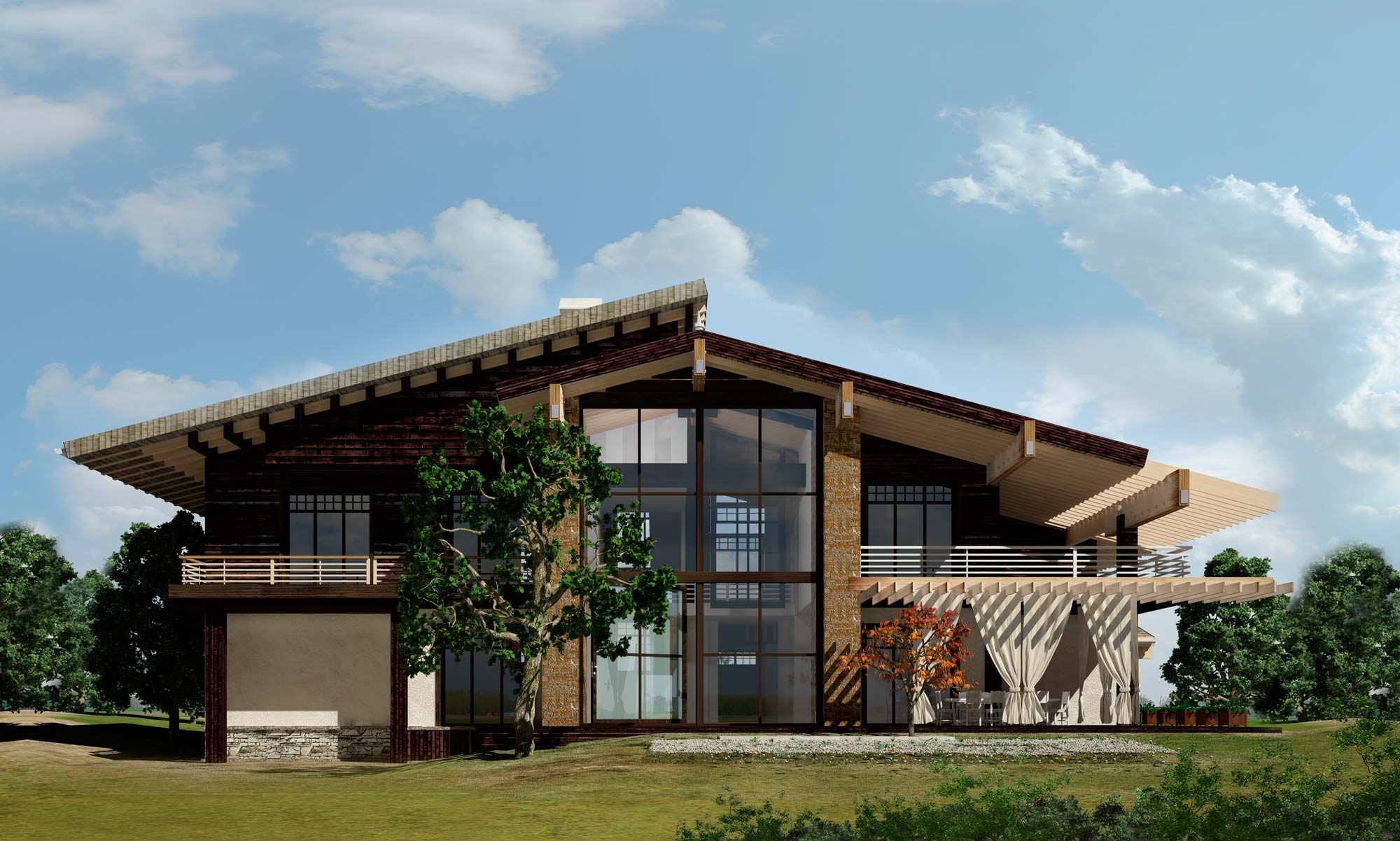 for Baustile einfamilienhaus