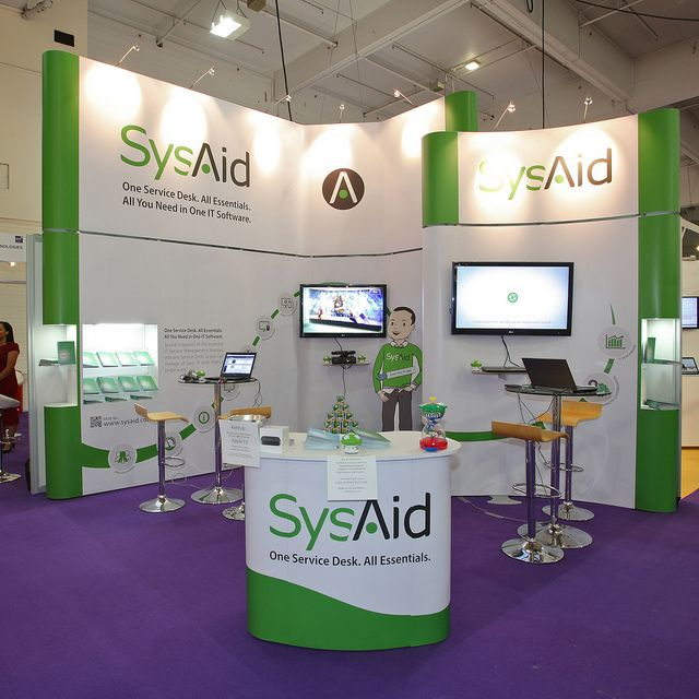 Exhibition Stand Design Software : Sysaid technology and software exhibition stand designs