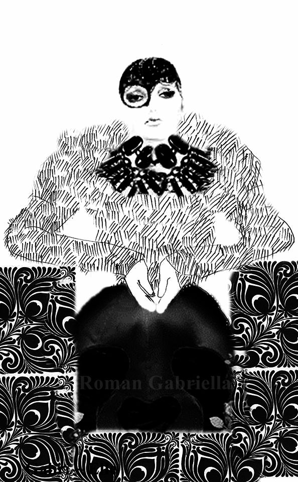 ROMAN GABRIELLA FASHION ILLUSTRATION  CLICK HERE: https://www.facebook.com/romangabriella