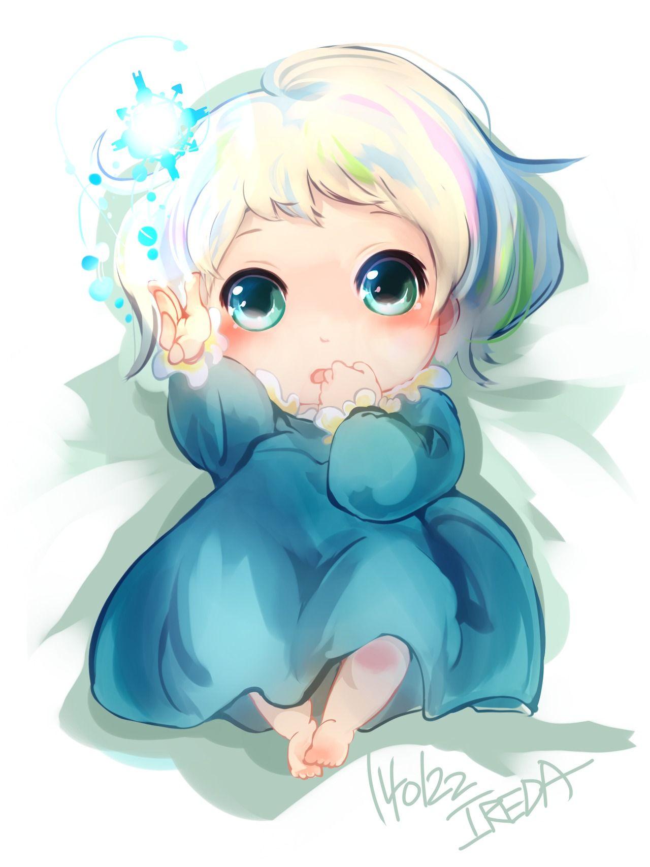 赤ちゃん エルサ by IREDA on pixiv